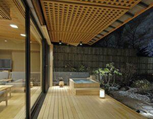 奥伊香保 旅邸 諧暢楼   新緑、紅葉、雪景色を背に! 写真