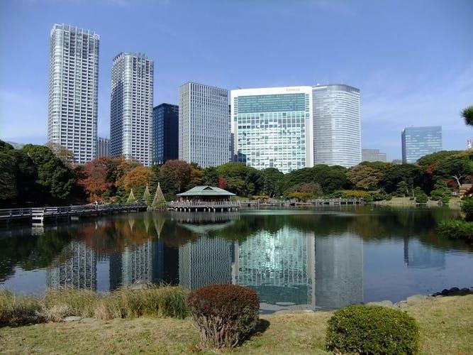 コンラッド東京  東京湾や浜離宮を一望する! 写真1