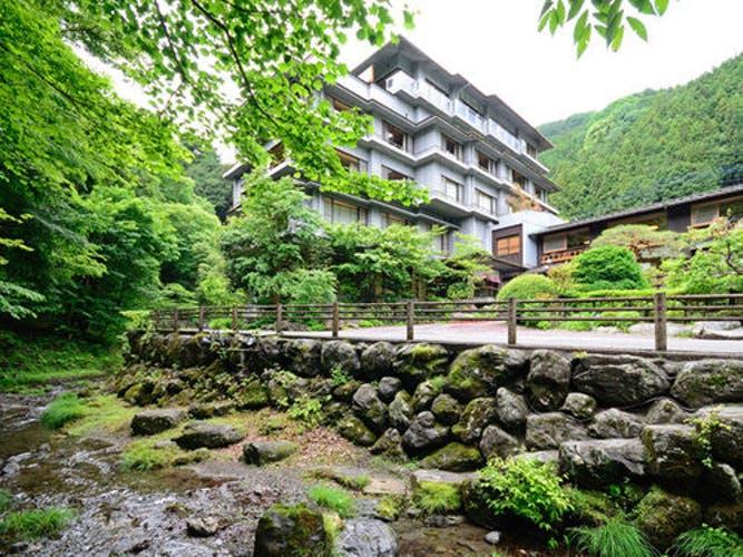 大松閣   緑の山々を見渡せる展望大浴場! 写真1