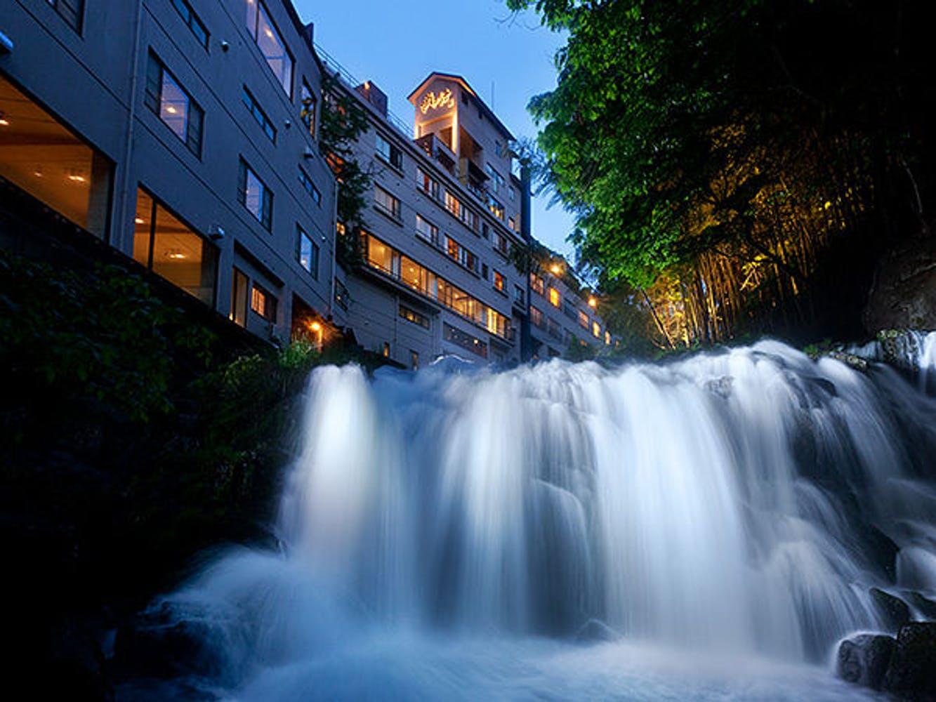 会津東山温泉 客室専用露天風呂付のスイートルーム はなれ 松島閣 写真1