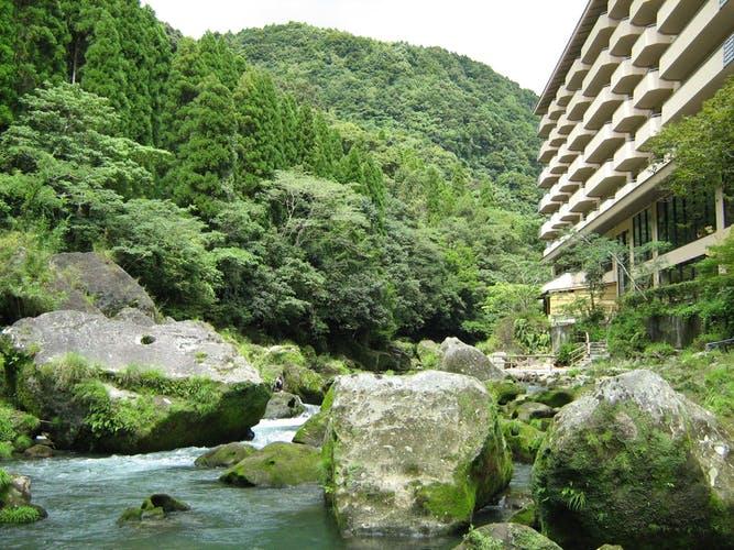 天降川温泉 ホテル華耀亭 写真1