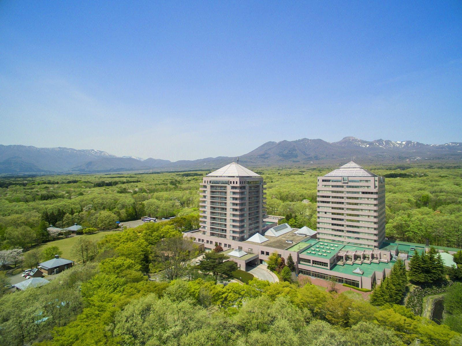 ホテルエピナール那須  那須高原随一の広さを誇る温泉大浴場&露天風呂! 写真1
