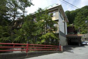 増富ラジウム温泉 不老閣  日本一のラジウム含有量 写真