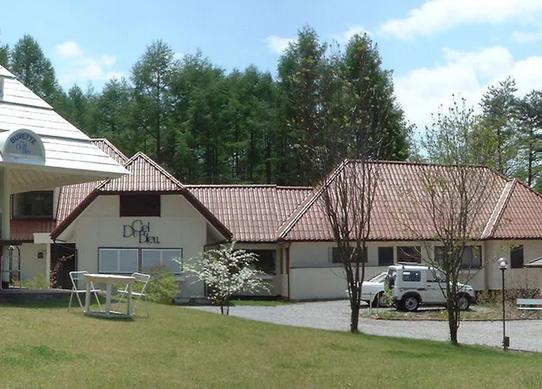 ホテル デュシェルブルー  八ヶ岳を見るためボイラー室を撤去! 写真1