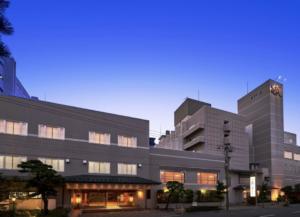 函館湯の川温泉 花びしホテル  湯けむりがあがる庭園露天風呂! 写真