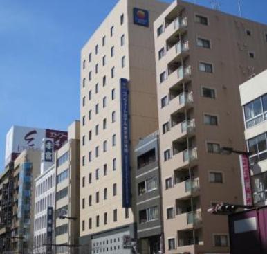 コンフォートホテル東京東日本橋  馬喰町駅東口から徒歩0分! 写真1