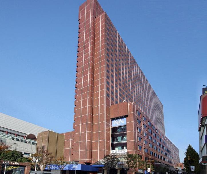 新宿プリンスホテル   2階が西武新宿駅で機能的なホテル! 写真1